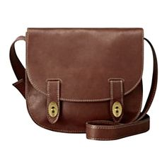 Fossil Austin Large Flap (5 800 UAH) ❤ liked on Polyvore featuring bags, handbags, shoulder bags, purses, accessories, bolsas, espresso, leather bags, brown leather purse and shoulder handbags