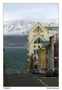 Smokey Bay IV - , Reykjavik, Iceland. Mount Esja in the background - How can you not want to live in a city with a view like that?