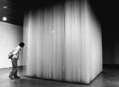 HONG SUNGCHUL|HADA CONTEMPORARY | White Cube | cotton string | 350 X…