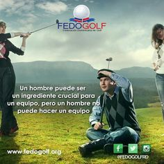 Ten presente que los demás también cuentan.  #fedogolfRd #golf #instagolf #swing #grass #green #field #putter #hoyo #RD #DominicanRepublic #sport #deporte #Backspin #bola ##fairway #draw #driver #finish #victory #win #hard #fight