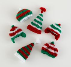 Image of Wee Winter Hat Ornaments
