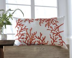 Don't forget about the Cankton Coral Pillow by Ashley Furniture when you're decorating your beach home this year! Its coral design will add a subtle accent of coastal decor into your home. Coastal Furniture, Coastal Decor, Furniture Decor, Coastal Cottage, Teal Couch, Teal Throw Pillows, Coral Design, Signature Design, Pillow Set
