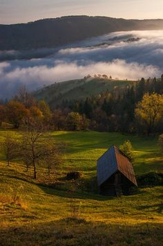 Carpathian mountings , West Ukraine, from Iryna Russia Ukraine, Carpathian Mountains, Mountain Photos, Cabins And Cottages, Eastern Europe, The Good Place, Scenery, Places To Visit, Clouds