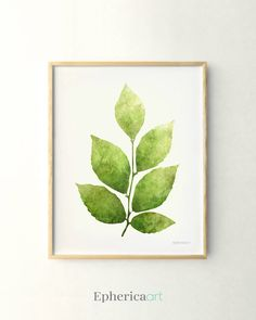 Leaves digital art, Botanical apartment decor, Home garden inspired Nature wall decor, Bedroom wall art Botanical wall decor prints by EphericaArt on Etsy