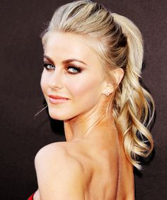 Julianne Hough Hairstyle Riawna Capri Ponytail