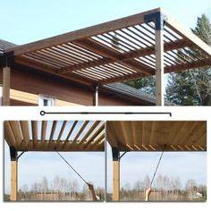 Backyard Patio Designs, Backyard Pergola, Backyard Projects, Pergola Plans, Gazebo, Carport Patio, Backyard Pavilion, Outdoor Pavilion, Backyard Shade