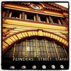 Flinders Street, Melbourne, taken with a #galaxynote2