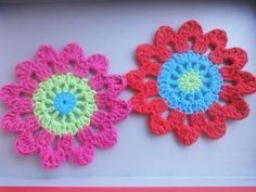 Flores japonesas a crochet - How to crochet Japanese Flowers ENGLISH SUB - YouTube