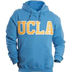 UCLA Classic Hooded Sweatshirt   ... blue, yellow, white ...  saw this very same shirt on a student in one of my classes today ,,, fits the theme of this board to a T ,,,,