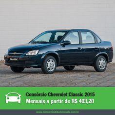 O Chevrolet Classic é o sedã mais vendido no Brasil pela Chevrolet e agora chega à linha 2015 com muitas novidades e preços competitivos. Acesse nossa matéria e confira: https://www.consorciodeautomoveis.com.br/noticias/chevrolet-classic-2015-a-partir-de-r-403-20-mensais?idcampanha=206&utm_source=Pinterest&utm_medium=Perfil&utm_campaign=redessociais