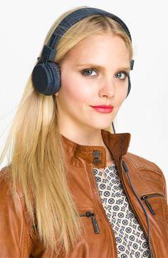 Urbanears 'Plattan' Denim Edition Headphones available at #Nordstrom