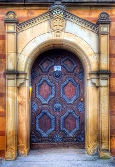 Door in Weimar, Thuringia, Germany·