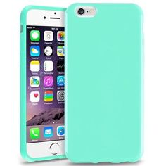 Insten Mint Green Jelly TPU Slim Skin Gel Rubber Cover Case For Apple iPhone 6 4.7 inch 4.7""