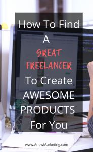 How to Find a Great Freelancer to Create Awesome Products for You Affiliate Marketing, Online Marketing, Digital Marketing, Make Money Online, How To Make Money, Social Media Tips, Productivity, Lifestyle Blog, Saving Money