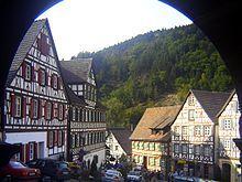 Fachwerkhaeuser - Schwarzwald