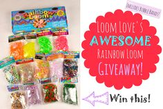 Did you enter our Awesome Rainbow Loom Giveaway?