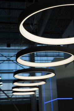 #LED direct #light pendant lamp LUNAOP by @martinelliluce | #design Emiliana Martinelli