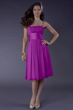 Bridesmaid Dresses | Special Occasion Dresses | Style 402 in amethyst