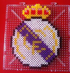 Real Madrid hama beads