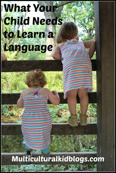 What Your Child Needs to Learn a Language - European Mama on Multiculturalkidblogs.com