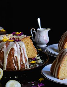 Κέικ λεμονιού με λευκή κουβερτούρα - Just life French Toast, Breakfast, Food, Morning Coffee, Essen, Meals, Yemek, Eten