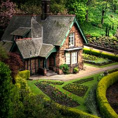 Cottage in the gardens