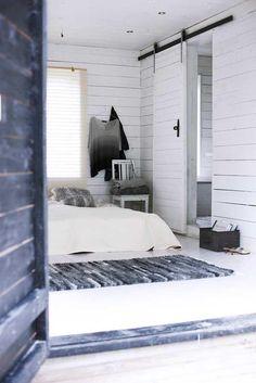 White Scandinavian interior on Gotland Island House Design, Decor, Interior Design, House Interior, Home, Interior, Sliding Doors Interior, Scandinavian Interior, Interior Design Photography