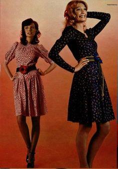1971 - Yves Saint Laurent Couture by Roland Bianchini for l'Officiel