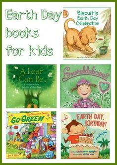 5 earth day books for kids