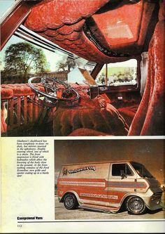 "The ""Gladiator"" custom 70's Ford show van"