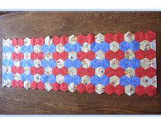 Catswhiskers: Hexagon Table runner