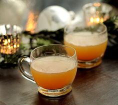 spiced and spiked cider--great holiday drink!