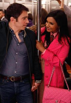 Mindy Lahiri and Danny Castellano awww