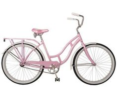 A Little Loveliness: Pink Bicycle: Pedal-Pushing Products