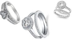 wedding ring set  A wedding ring set represents the union of a man and a woman as one body, heart and soul. The ring symbolizes the everlasting love the couple has for each other. So, it would not be wrong to think that a wedding ring set represents their union.
