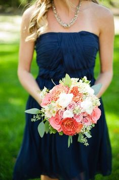 Backyard Barrington Wedding by Keren Sarai Photography - Wedding Colors Bridesmaid Bouquet, Wedding Bridesmaids, Wedding Bouquets, Bridesmaid Dresses, Wedding Dresses, Wedding Flowers, Teal Dresses, Wedding Mandap, Pink Bouquet