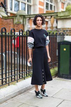 Chelsea Girls: London Street Style - HarpersBAZAAR.com