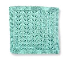 Free Creative Knitting Build-a-Block Series: Knit Stitch Block #1 of 5 - Lacy Eyelet Vines | Go here for FREE tutorials & tips for 5 stitch patterns: http://www.creativeknittingmagazine.com/blog/?cat=31