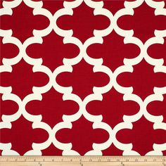 Red Valance. Red valence. Red Geometric Valance by GallaryVerde
