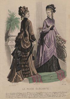 La Mode Elégante 1875