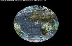 Intellicast - Infrared Satellite in Impfondo, Republic of The Congo