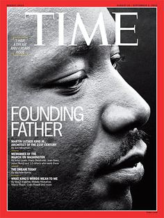 """Martin Luther King, Jr deep in meditation after delivering his """"I HAVE A DREAM"""" speech. August As featured on the 4 global covers of the current issue of Time Magazine. Martin Luther King, Michele Norris, Julian Bond, Time Magazine, Magazine Covers, Magazine Rack, Civil Rights Movement, I Have A Dream, King Jr"""