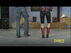 Country Line Dance - Tush Push (the Fireman) Learn to Line Dance