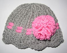 Cute Ribbed Baby Hat ~ free pattern ᛡ