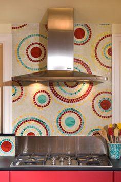 Kitchen, bath, office - contemporary - kitchen - seattle - by Ventana Construction LLC