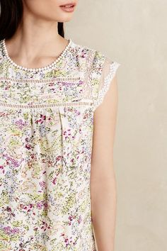 Spring 2015 Inspiration - alot like the Alice Dress/Top by Tessuti! // Nellore Blouse - anthropologie.com