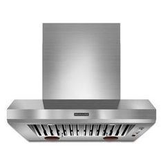 KitchenAid® 36'' Wall-Mount 600-1200 CFM Canopy Hood, Commercial-Style