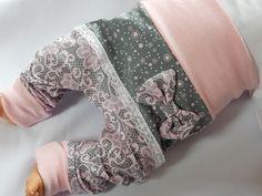 Pumphosen - Pumphose Blumenspitze⭐ab. Gr. 50 - 104⭐Patch - ein Designerstück von Feenstyle-by-Mama-winter bei DaWanda