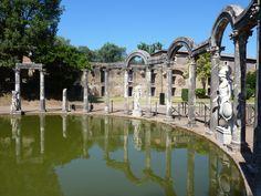 Villa Adriana, Summer Home of the Emperor Trajan.