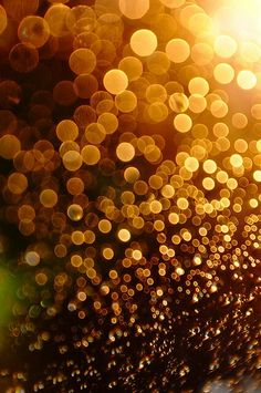 Gold sparkle ♥
